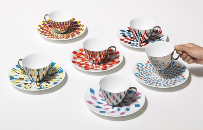 mirror cups